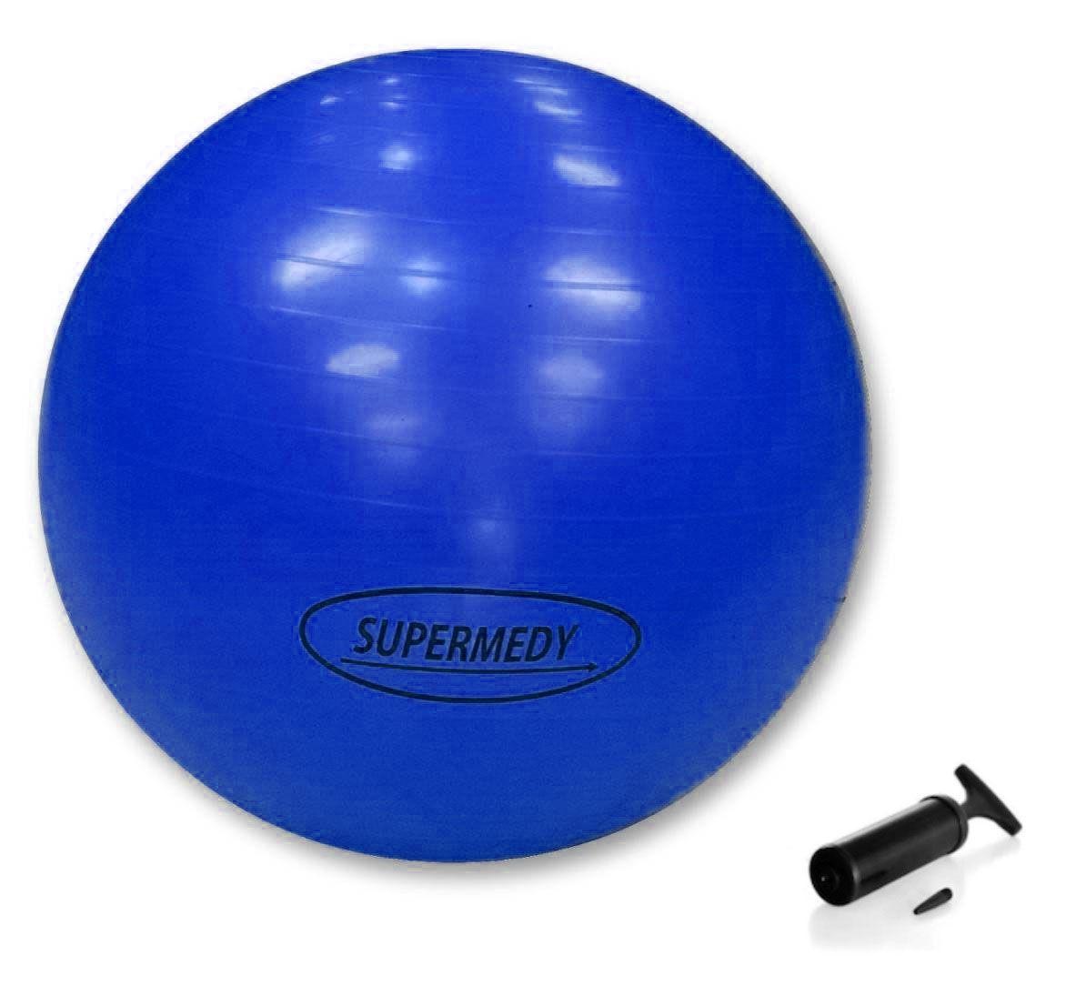 Bola de Ginástica Pilates, Funcional e Yoga 65 cm - SUPERMEDY