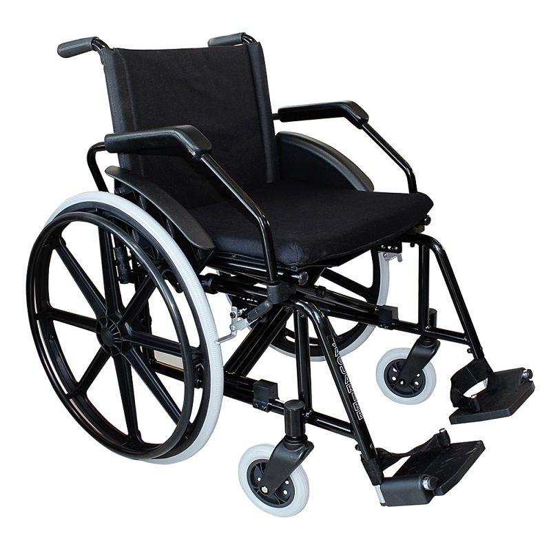Cadeira de Rodas Dobrável Jaguaribe Poty 50cm