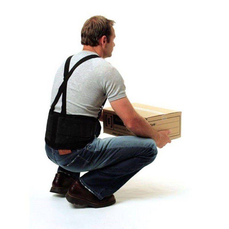 Cinta Lombar com Suspensório para Segurança do Trabalho
