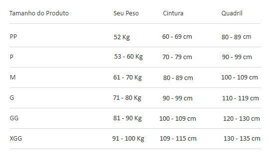 Cinta Modeladora Pós Cirúrgica Completa com Reforço no Culote 60402 Chocolate
