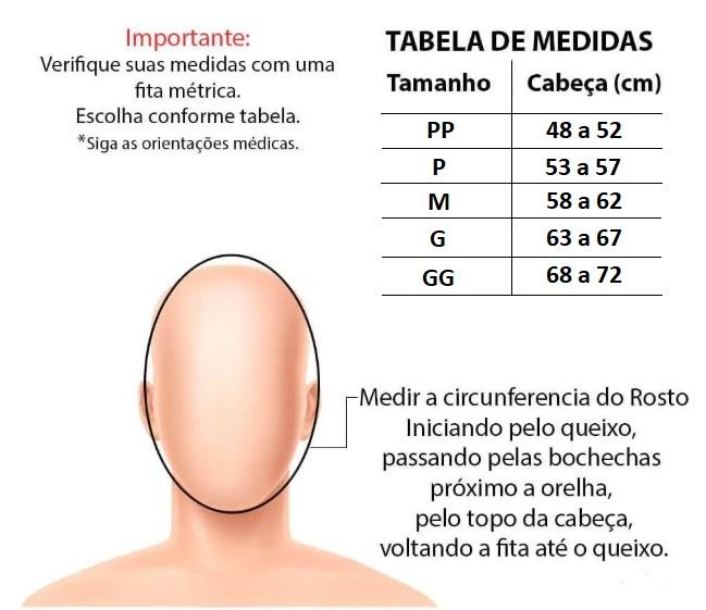 Faixa Mentoneira Otoplastia Pós Cirurgica New Form - 6M901
