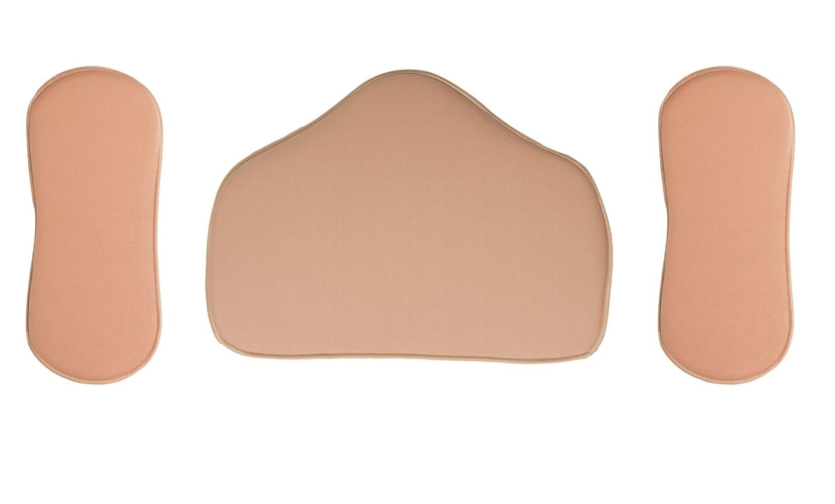 Kit Placas De Contenção Flexível Abdominal E Lateral Pós Cirurgica New Form