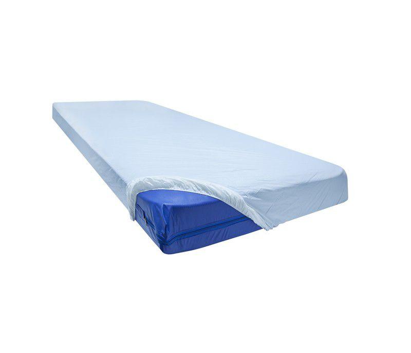 Lençol PVC Impermeável com Elástico para Colchão de Solteiro