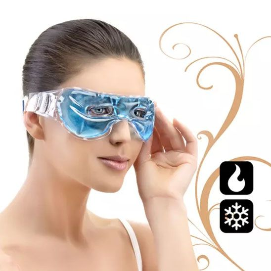 Máscara Térmica para Olhos Aberta