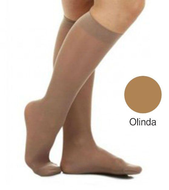 Meia 3/4 Média Compressão Fechada Olinda (20-30 mmHg) AD Legline - Venosan®