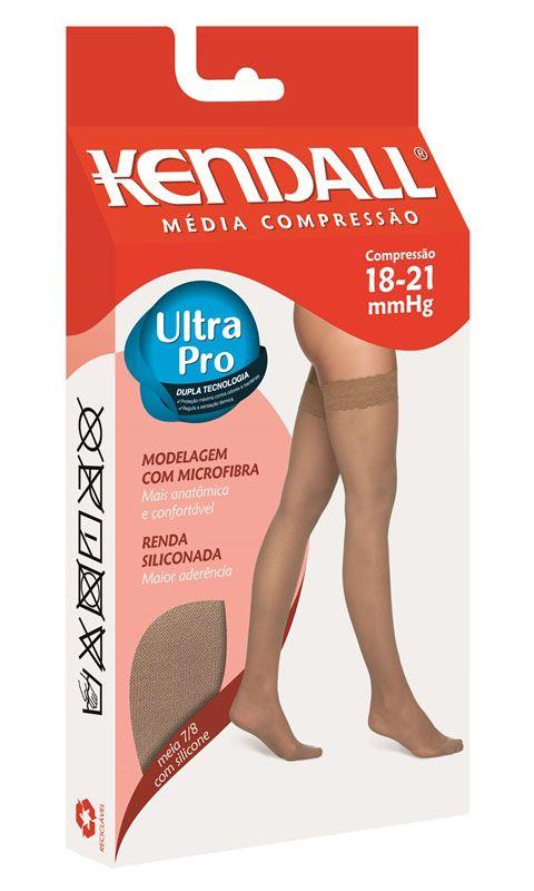 Meia 7/8 com Ponteira Média Compressão (18-21 mmHg) Feminina 1612 - Kendall®