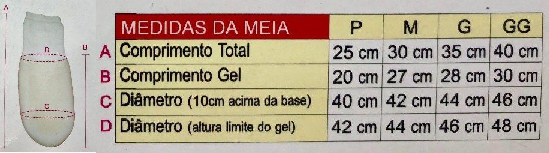 Meia Para Coto com Revestimento de Gel Softgel Tima TM 486
