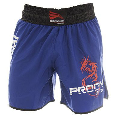 Short Muay Thai Masculino Azul Royal