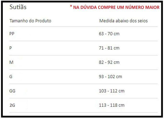 Sutiã Com Faixa Contensora Pós Cirurgico Prótese De Mama - 60106 Chocolate