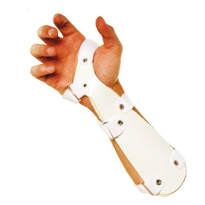 Órtese Tala de PVC  para Punho Dedos Livres