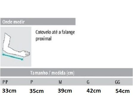 Tipoia Imobilizadora em Brim Simples Bilateral - Hidrolight