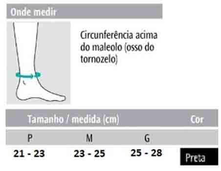 Tornozeleira em Neoprene - Progne Sports
