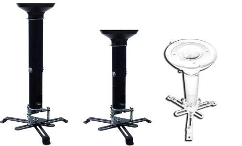 Suporte Universal De Teto P/ Projetor C/ Extensor 70 À 125cm