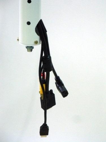 Suporte Projetor Universal De Teto Branco-epson Optoma Sony
