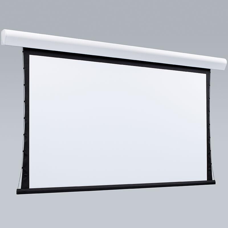 Kit Tela Projeção 133'' Widescreen 16:9, Moldura De Acabamento, Lift Modelo 32x32 com Sensor de Corrente Duplo