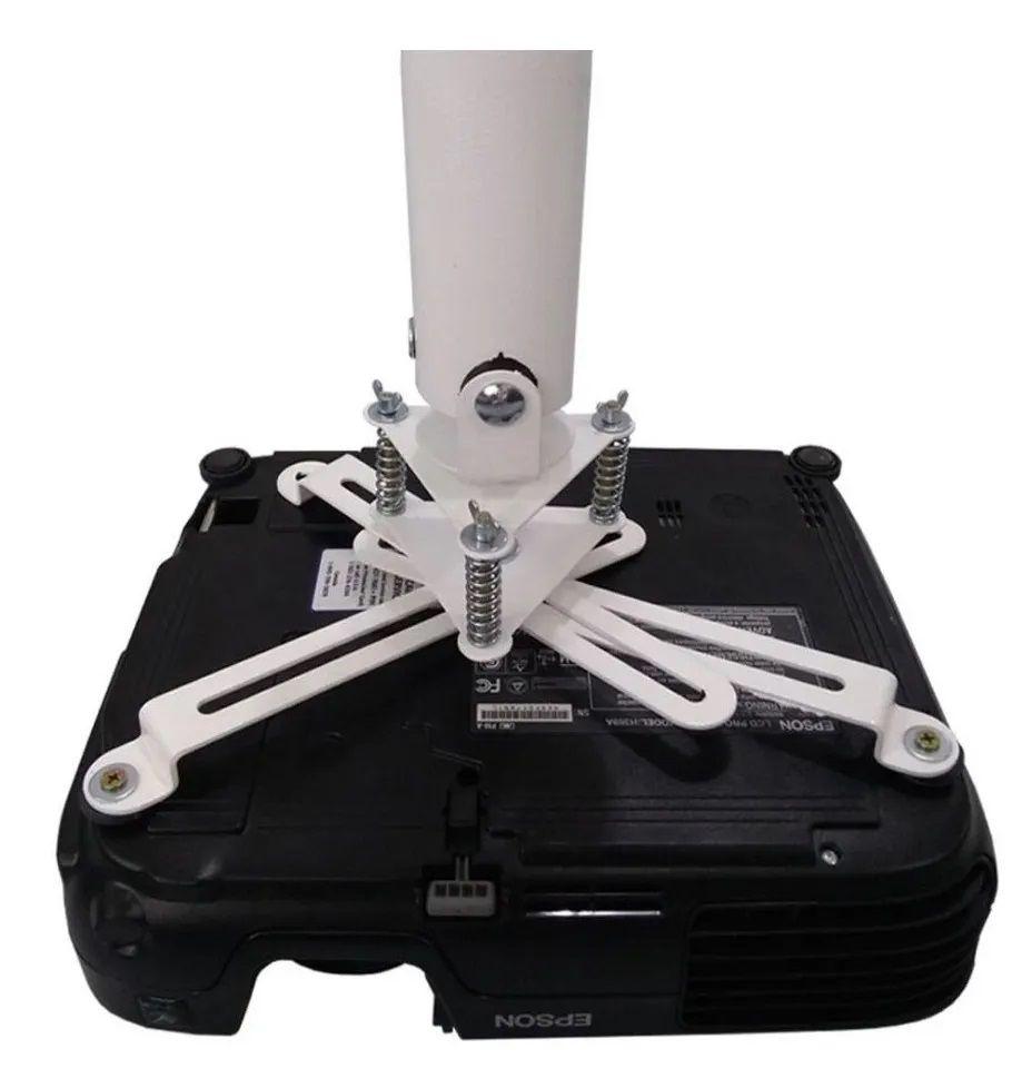 Suporte Universal para Projetores Fixação Parede / Teto com extensor FVTT-70 à 122cm