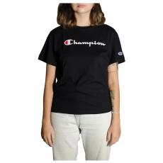 Blusa Feminina Champion Script Logo Ink - Preta Gt18B Y07418