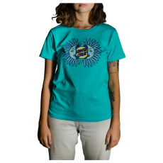 Blusa Santa Cruz Slit sun  -Azul-turquesa 51141071