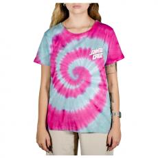 Blusa Santa Cruz Twister Dot Tie Dye