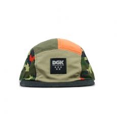 Boné 5 Panel DGK Fusion Camper Verde HEH-1101