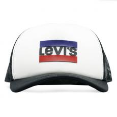 Boné Levis Trucker Preto/Branco