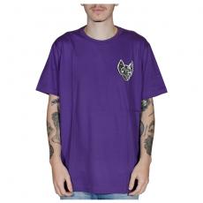 Camisa Drop Dead Bat Head Roxa 70241013