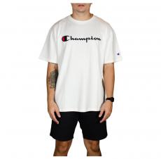 Camiseta Champion 5 Oz Script Logo Print - Branca GT23B Y06794B