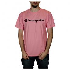 Camiseta Champion 5 Oz Script Logo Print - ROSA GT23B Y06794B