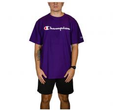 Camiseta Champion 5 Oz Script Logo Print - Roxo GT23B Y06794B