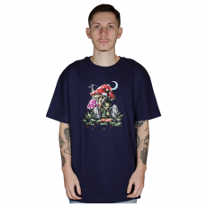 Camiseta DGK Loungin Tee Roxa PTM-2193