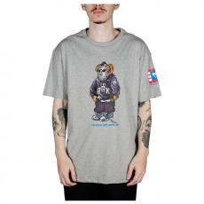 Camiseta DGK The Plug Tee Mescla Cinza