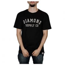 Camiseta Diamond Stencil Tee Preta D20DMPA024