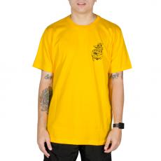 Camiseta Drop Dead Anchor Amarela