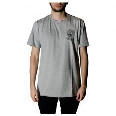 Camiseta Drop Dead Flame Cinza 70241012