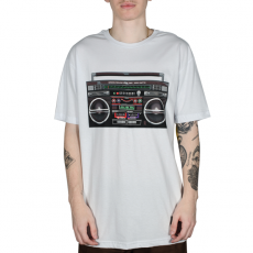 Camiseta Grizzly Boom Box Branca