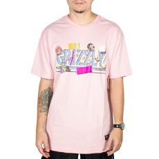 Camiseta Grizzly Pool Party Rosa
