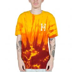 Camiseta Huf X Spitfire Classic Amarela/Vermelha