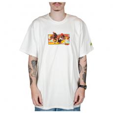 Camiseta Huf X Street Fighter II Dhalsim Branca
