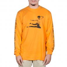 Camiseta Lakai Kung Flare Manga Longa Mostarda