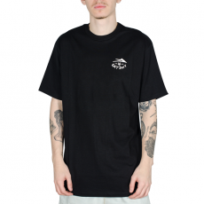 Camiseta Lakai X Hard Luck Motto Preta