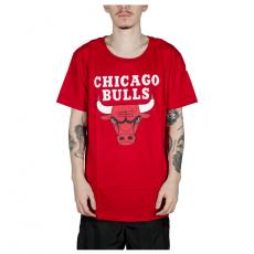Camiseta NBA Chicago Bulls Big Logo Vermelha