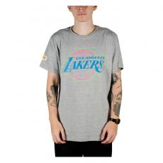 Camiseta NBA Los Angeles Lakers Mescla Cinza