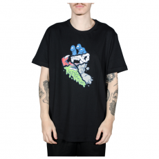 Camiseta Santa Cruz Universal Hand Preta