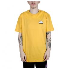 Camiseta Thank You Cloud Icon SS Amarelo