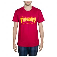 Camiseta Thrasher Flame Bordo 1013020002