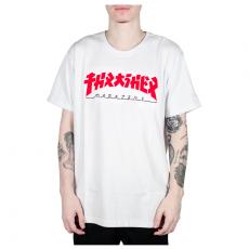 Camiseta Thrasher Godzilla Branca