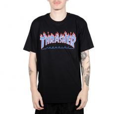 Camiseta Thrasher Patriot Preta
