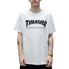 Camiseta Thrasher Skate Mag Branca
