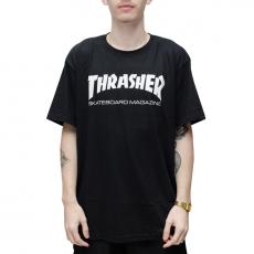 Camiseta Thrasher Skate Mag Preta
