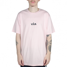 Camiseta Via Alfa Rosa